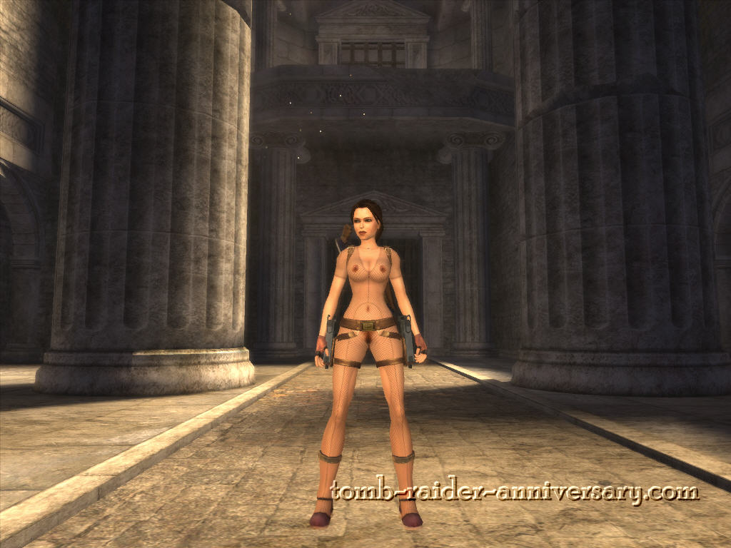 lara croft nudity glitch