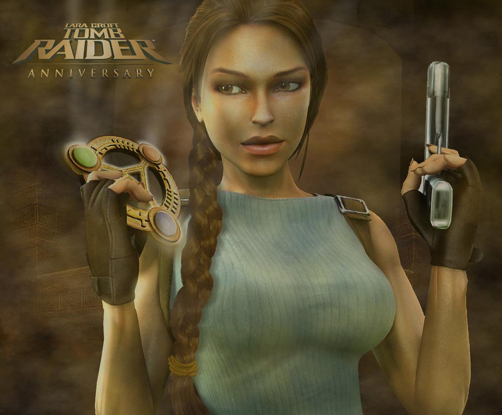 Tomb Raider Anniversary Artwork