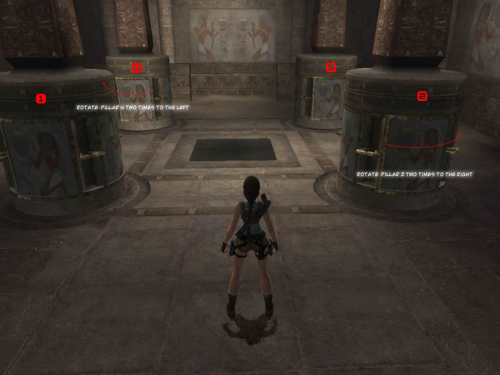 Tomb Raider Anniversary Egypt Sanctuary Of The Scion Visual