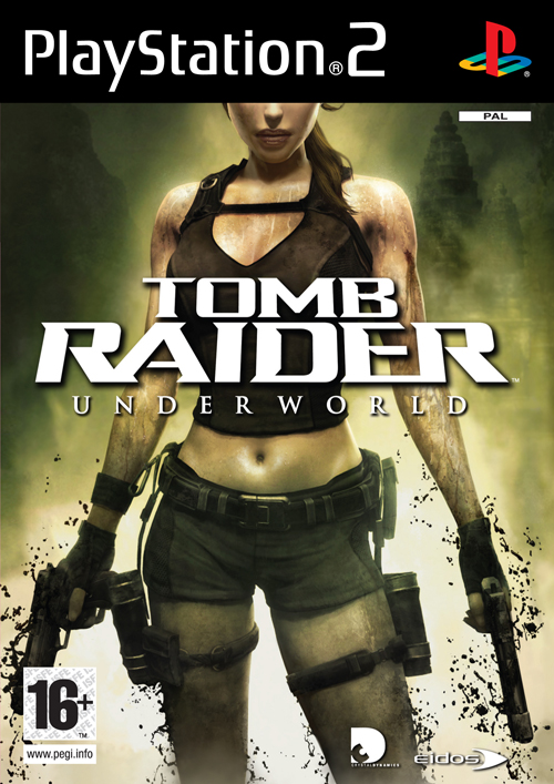 Tomb Raider Underworld PlayStation 2 packshot